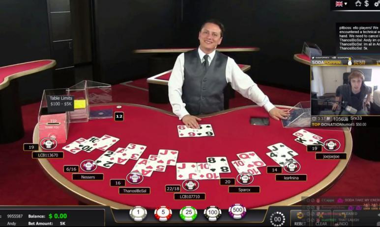Blackjack en vivo en Chile